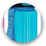500ml Blau glänzend