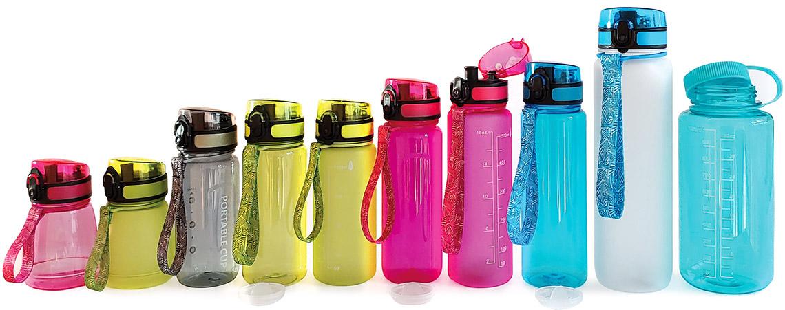 Tritan-Trinkflaschen aus lebensmittelechten PCC