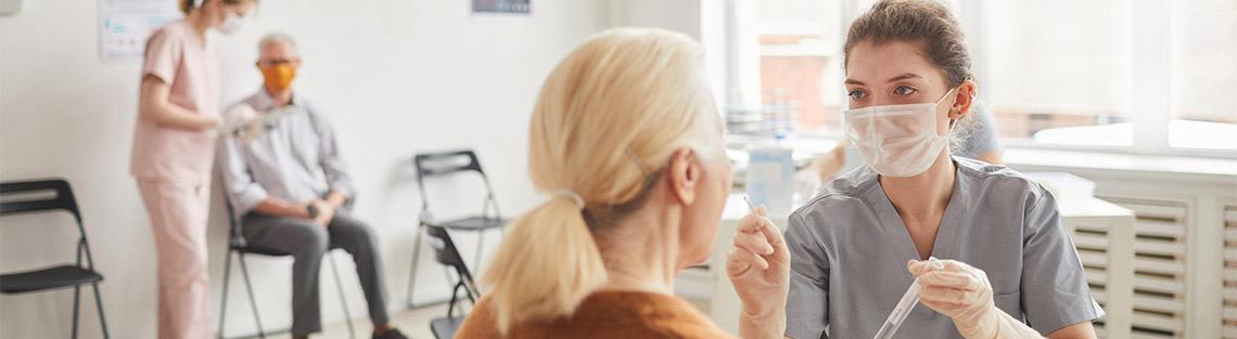 Arztpraxis Impfung Luftfilter