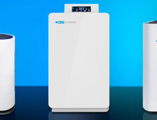 Wirksame Luftfilterung in Wohnungen, Büros, Konferenzräumen und Gruppenräumen