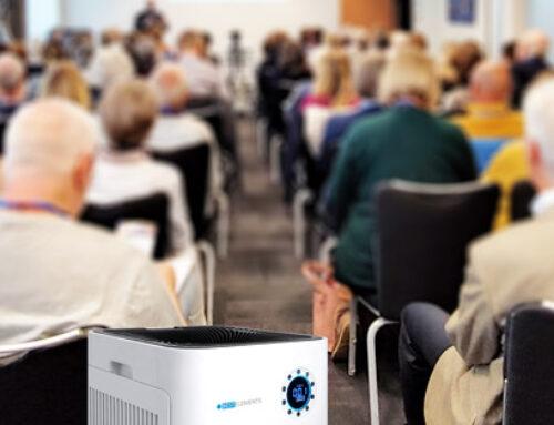 Mobile Luftfilter für Event mieten – Seminare Workshops Kongresse mit Hygienekonzept