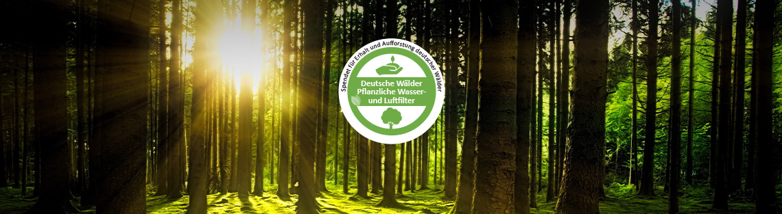 Spende für Natur und Wälder