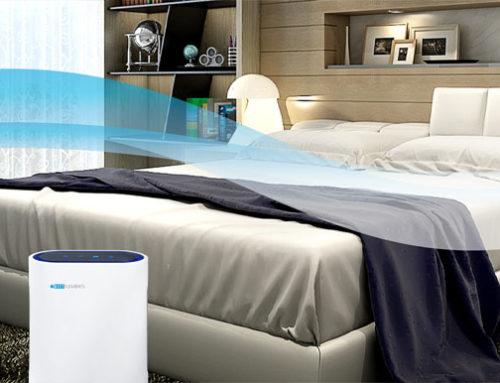 Leise Luftfilter für Schlafzimmer