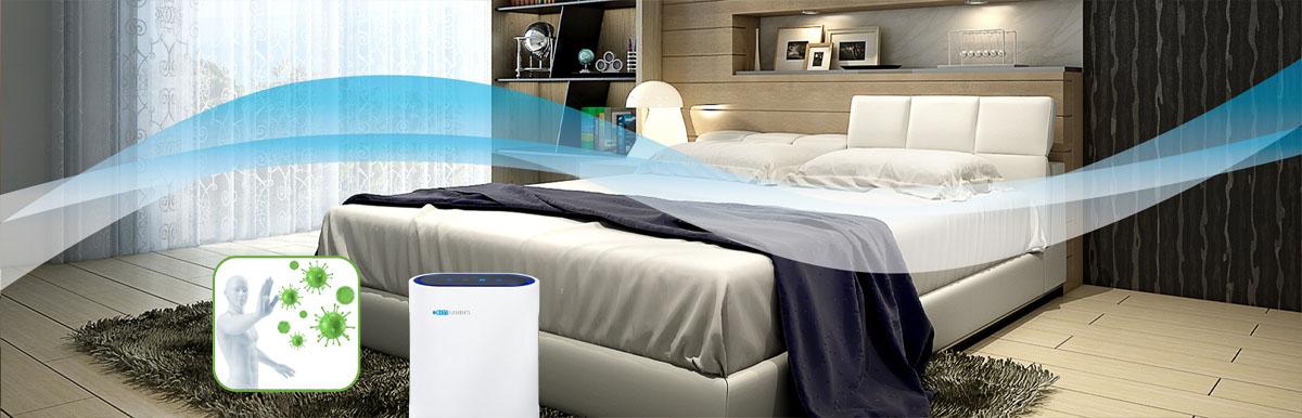 Luftfilter Luftreiniger gegen Keime Bakterien Viren Tröpfcheninfektion Zuhause