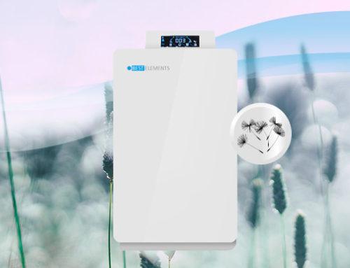 Luftfilter/Luftreiniger um Pollen und Blütenstaub aus der Luft zu filtern